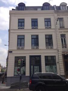 Peinture sur bâtiment à Lille