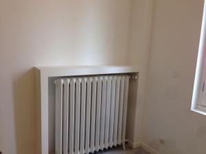 Plâtrerie cache radiateur à Lille